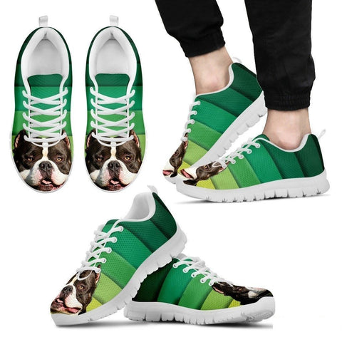 American Bulldog Running Shoes For Men-Free Shipping Limited Edition-Paww-Printz-Merchandise