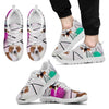 American Foxhound Dog Running Shoes For Men-Free Shipping-Paww-Printz-Merchandise