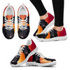 Barbet Dog (White/Black) Running Shoes For Women-Free Shipping-Paww-Printz-Merchandise