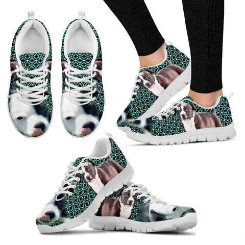 American Staffordshire Terrier-Dog Running Shoes For Women-Free Shipping-Paww-Printz-Merchandise