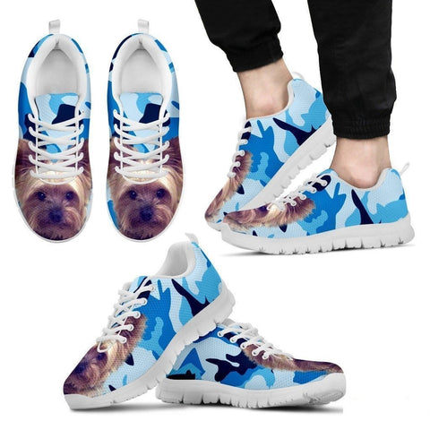 Yorkshire-Dog Running Shoes For Men-Free Shipping Limited Edition-Paww-Printz-Merchandise