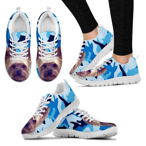 Yorkshire-Dog Running Shoes For Women-Free Shipping-Paww-Printz-Merchandise