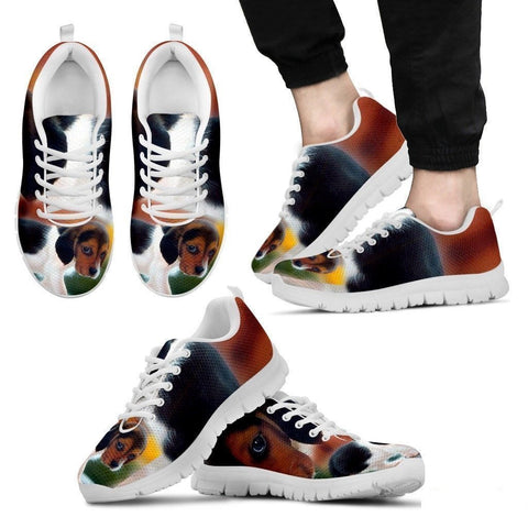 Beagle Dog-Men's Running Shoes-Free Shipping-Paww-Printz-Merchandise