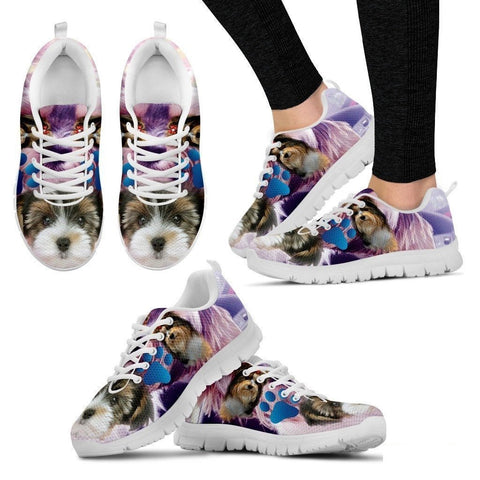 Biewer Terrier Running Shoe For Women- Free Shipping-Paww-Printz-Merchandise
