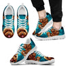 Lovely Poodle-Dog Running Shoe For Men-Free Shipping-Paww-Printz-Merchandise