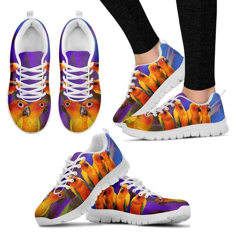 Conure Parrot Running Shoes For Women-Free Shipping-Paww-Printz-Merchandise