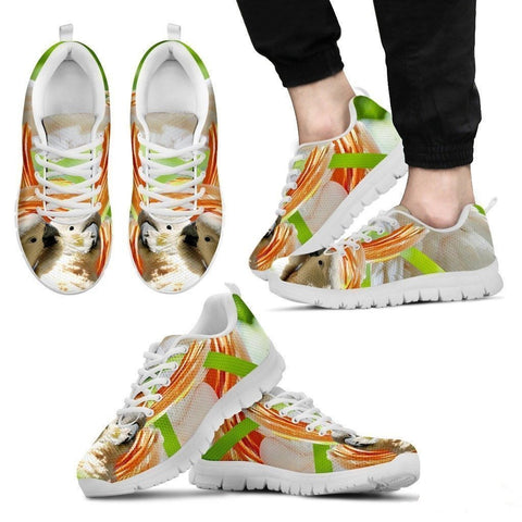 Cute Cockatoos Parrot Running Shoe For Men- Free Shipping-Paww-Printz-Merchandise