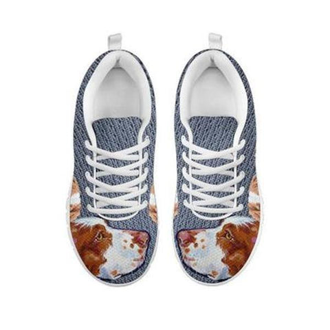Amazing Brittany Dog-Women's Running Shoes-Free Shipping-For 24 Hours Only-Paww-Printz-Merchandise