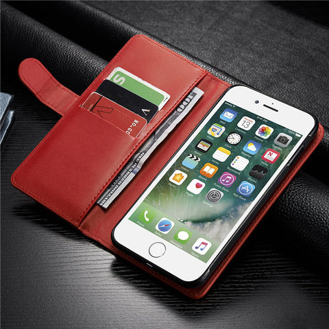 Women Men Multifunctional iPhone7/7Plus/6/6s/6Plus/6sPlus PU Leather Phone Case Wallet Card Holder