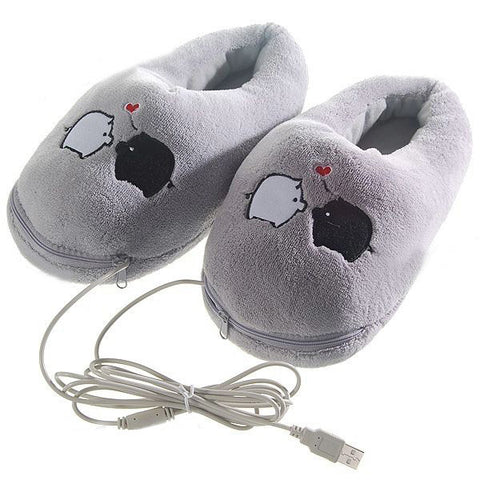 Winter Keep Warm Pigs Indoor Home Shoes
