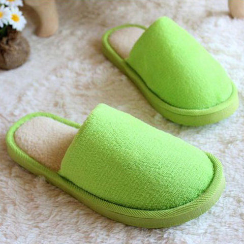 Winter Coral Velvet Home Shoes Soft Keep Warm Slippers