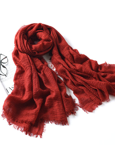 LYZA 200CM Winter Oversize Blanket Wrap Polyester Scarf Warm Shawl For Women Long Scarf