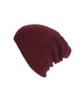 Winter Knit Plain Beanie Hat