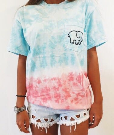 Women Round Neck Short Sleeve Elephant Cartoon Print T-Shirt