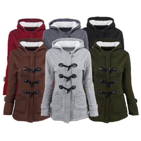 New Solid Cotton Casual Hoodie Jacket