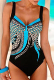 New Loverchic Mixed Color Sexy One Piece Swimwear