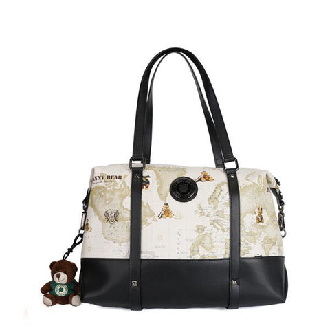 DANNY BEAR Cartoon Bear Print Shoulder Bags Handbag Shoulder Bags For Women