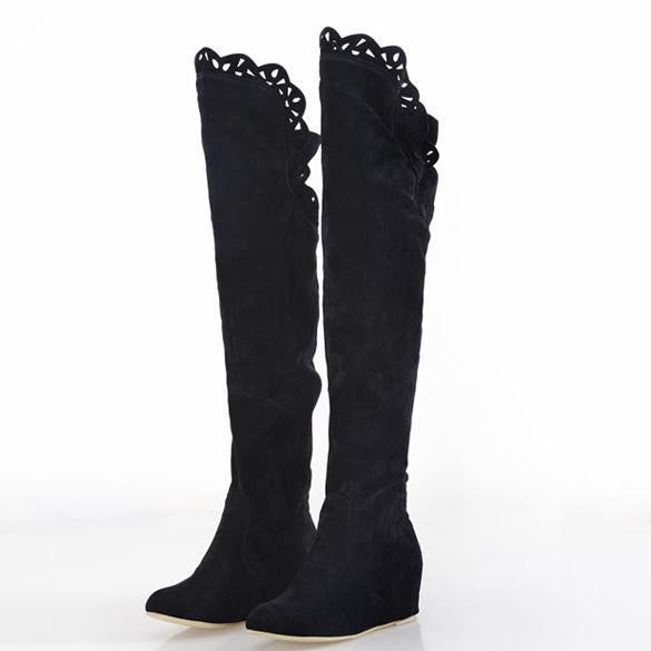 bfb53026868 Cheap Fashion Women Korean Over Knee High Long Boots Shoes Official Online