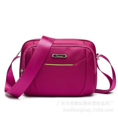 Nylon Casual Waterproof Light Crossbody Bag Shoulder Bags For Women