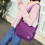 Multi-pockets Lightweight Women Crossbody Waterproof Shoulder Bags