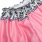 Pink Off Shoulder Print Straight Beach Mini Casual Dress
