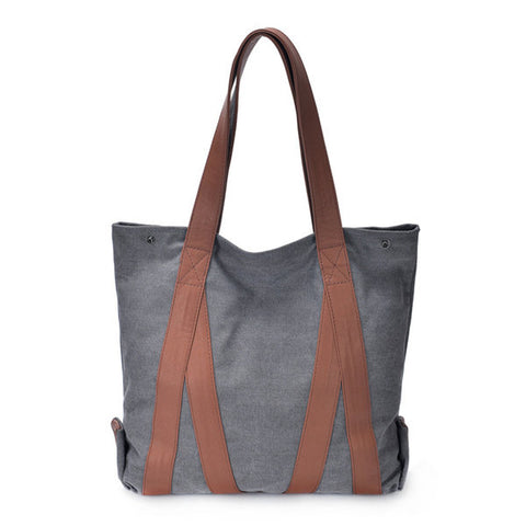 Canvas Casual Large Capacity Handbags Shoulder Bags For Women