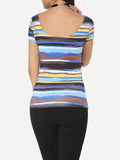 Assorted Colors Extraordinary Round Neck Short-sleeve-t-shirt