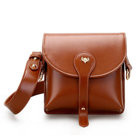 Women PU Leather Retro Sholder Bag Vintage Crossbody Bags