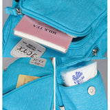 Nylon Casual Light Candy Color Chest Bag Multifunctional Shoulder Bag Crossbody Bags