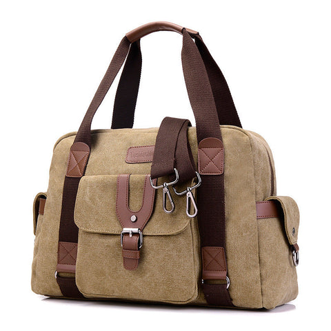 Canvas Casual Large Capacity Handbag Shoulder Bag Crossbody Bag For Women
