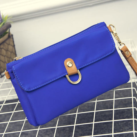 Women Nylon Waterproof Clutches Bags Little Handbag  Sling Bags