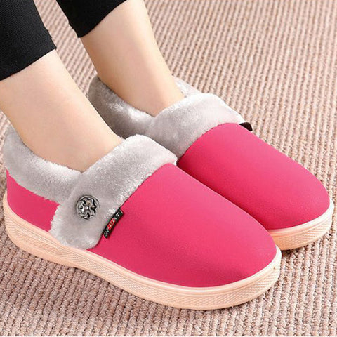 Slip On Indoor Warm Home Shoes
