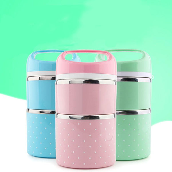 Lunch Box Stacker - Multi Compartment Food Transporter