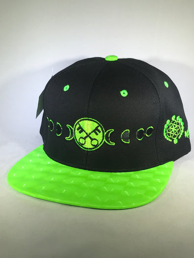 One of a Kind Snapback Hat small marking on brim half off