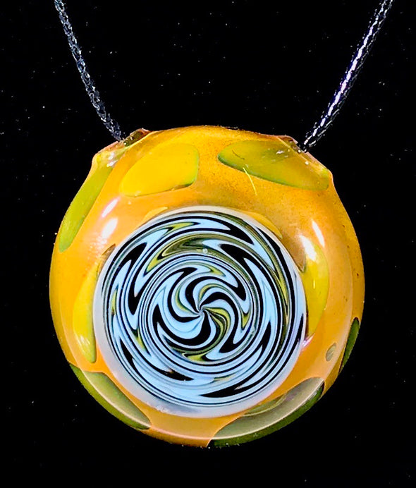 Mikey Mills Glass Pendant