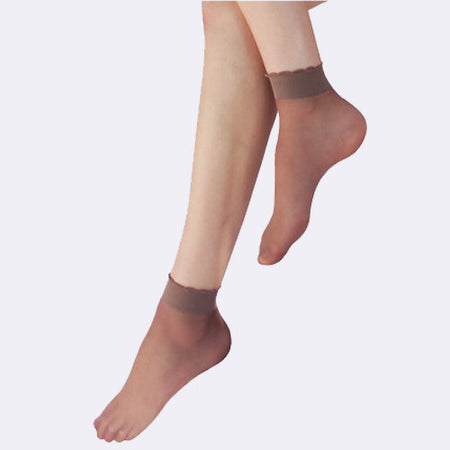 Lace Fishnet Ankle Socks