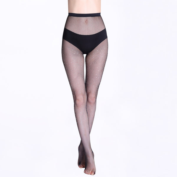 Sparkle Fishnet Tights - ceduire