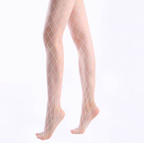 Large Fishnet Tights - ceduire