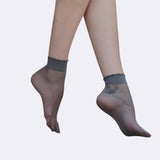 15 Denier Petal Silk Socks - ceduire