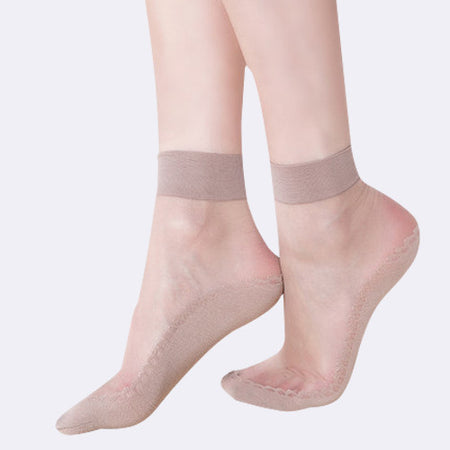 15 Denier Petal Silk Socks