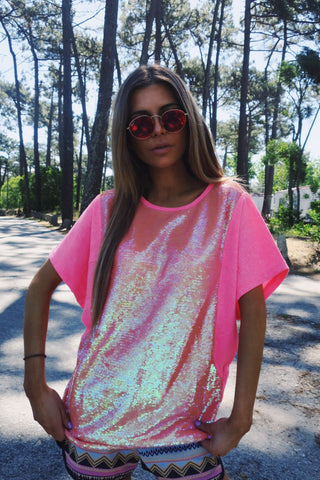 Sweat sequin Neon.