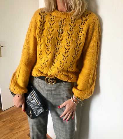 Sunflower knit