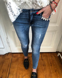Jeans pearl details