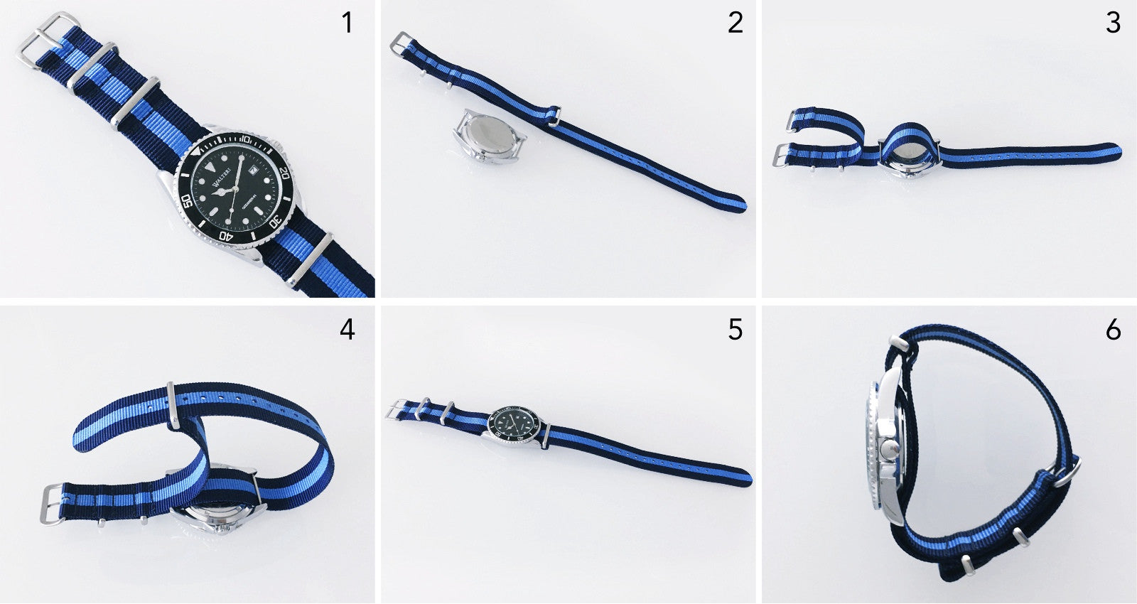 How to chnage the nato strap of your oceaner 41