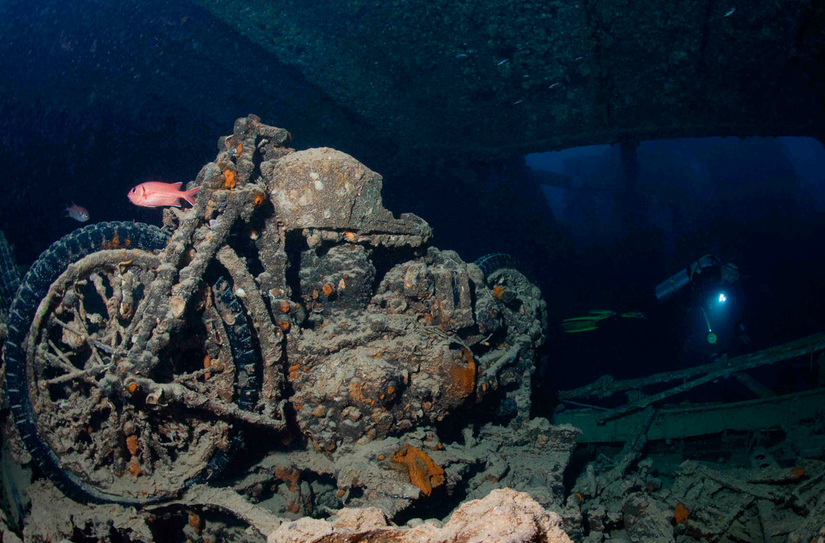 Thistlegorm, Egyptian Red Sea