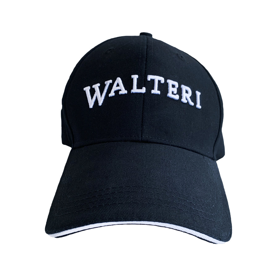 Walteri Baseball Cap Black WATCH - WALTERI