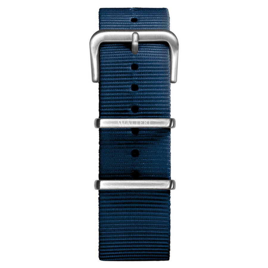 NATO STRAP NAVY BLUE WATCH - WALTERI