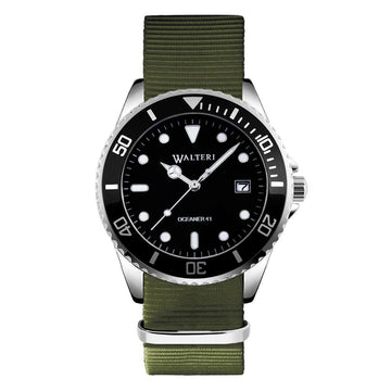 OCEANER 41 - NATO / KHAKI WATCH - WALTERI
