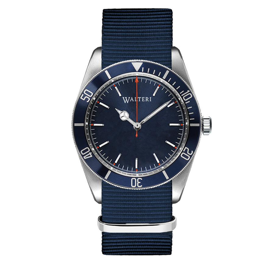 OCEANER 42 -  NATO / NAVY BLUE WATCH - WALTERI