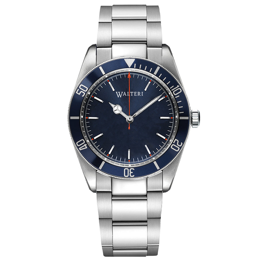 OCEANER 42 - STEEL / SILVER WATCH - WALTERI